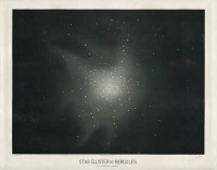 "Trouvelot: ""Star clusters in Hercules"", 1877. © The New York Public Library, gemeinfrei"